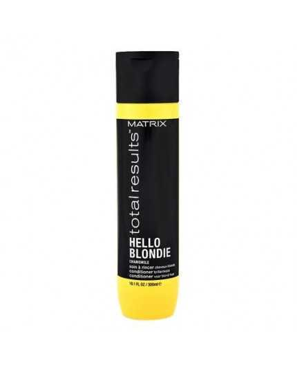 Matrix Total Results Hello blondie Camomile Conditioner 300ml - balsamo capelli biondi