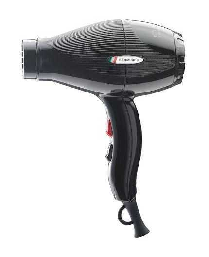 Gammapiù E-T.C. Light Asciugacapelli Professionale, 2100W, Nero