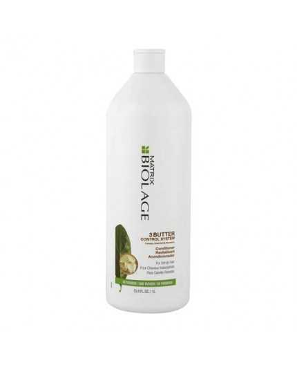 Biolage 3Butter Control system Conditioner 1000ml -balsamo per capelli ribelli