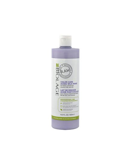 Biolage RAW Color Care Acid Milk Rinse-latte post colore